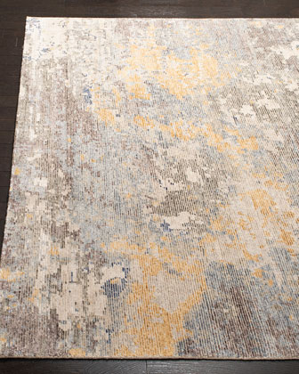 Trisha Hand-Knotted Rug, 6' x 9' and Matching Items