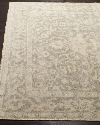 Rhett Hand-Knotted Rug, 6' x 9'  and Matching Items