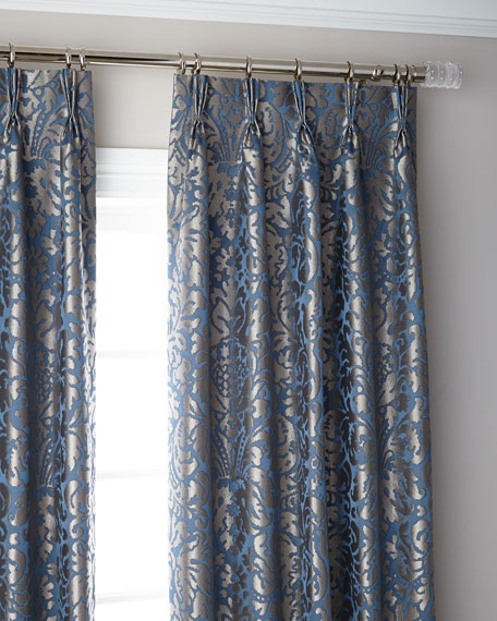 Bellantine 3-Fold Pinch Pleat Blackout Curtain Panel, 132""