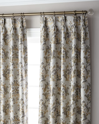 Marble 3-Fold Pinch Pleat Curtain Panel  96 and Matching Items