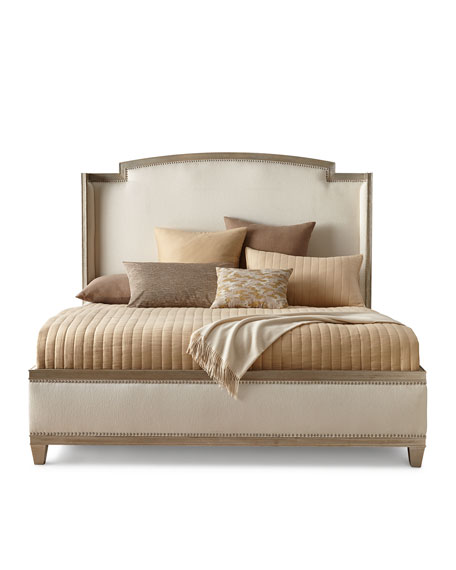 Ronan Upholstered Queen Shelter Bed