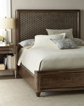 Elijah Queen Panel Bed  and Matching Items