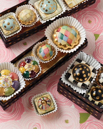 Petit Four Round Harlequin Knob and Matching Items