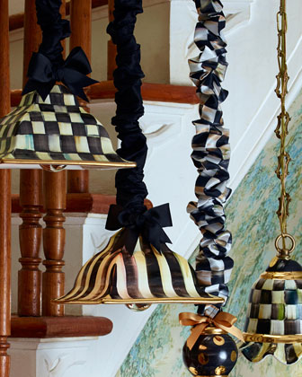 Courtly Check Square Hanging Lamp  and Matching Items