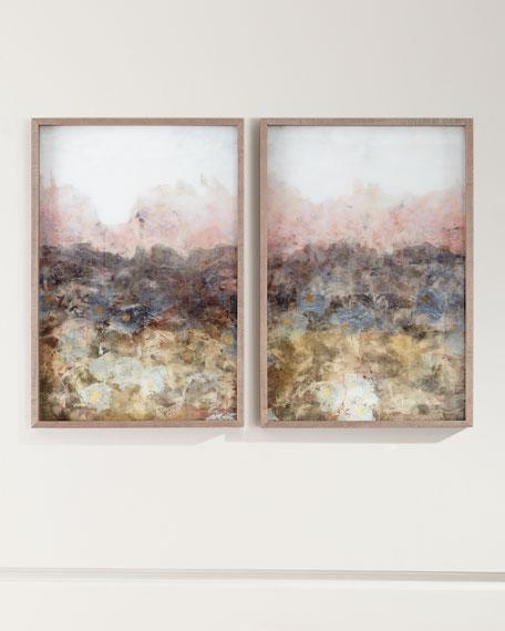 """Smokey Erosion I"" Framed Giclee Art"