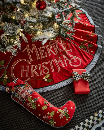 Merry Christmas Stocking  and Matching Items