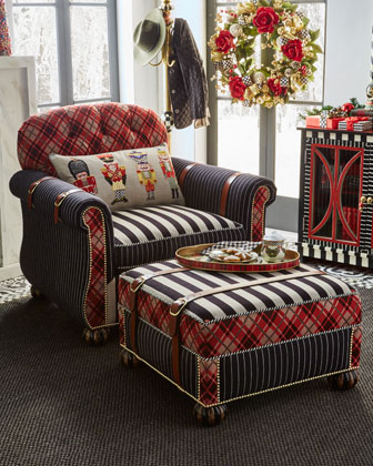 Regent Street Ottoman  and Matching Items