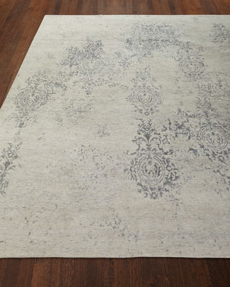 Minette Hand-Knotted Rug, 3.9' x 5.9'  and Matching Items