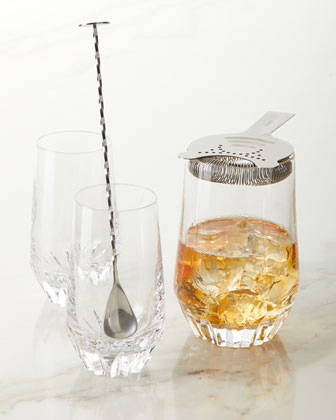 Irish Dogs Cocktail Pitcher with Stirrer and Strainer and Matching Items