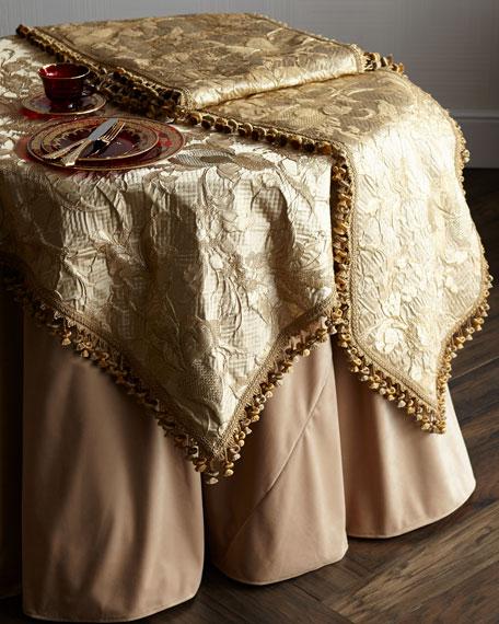 Palais Royale Velvet Tablecloth