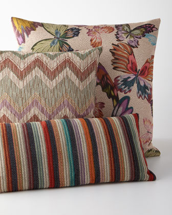 Valais Zigzag Jacquard Pillow  20Sq.  and Matching Items