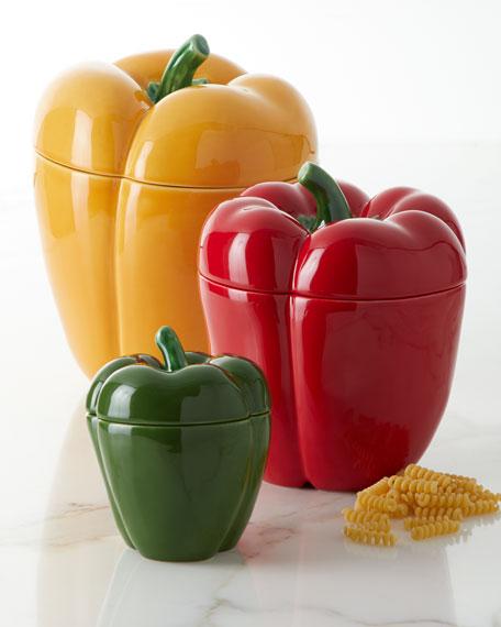 """Pimiento Pepper Box, 4.5"""""""