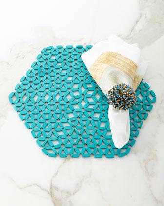 Brushstroke Linen Napkin  and Matching Items