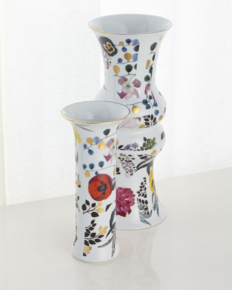 Porcelain Vase  and Matching Items