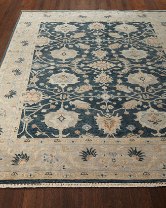 Estevan Hand-Knotted Oushak Rug, 4' x 6'  and Matching Items