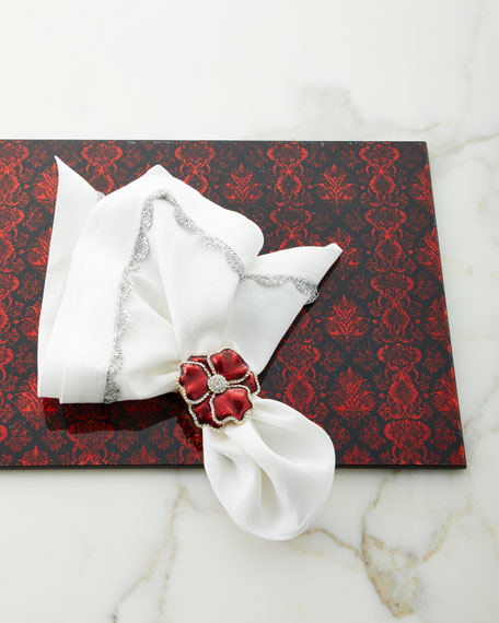 Scalloped Taping Napkin