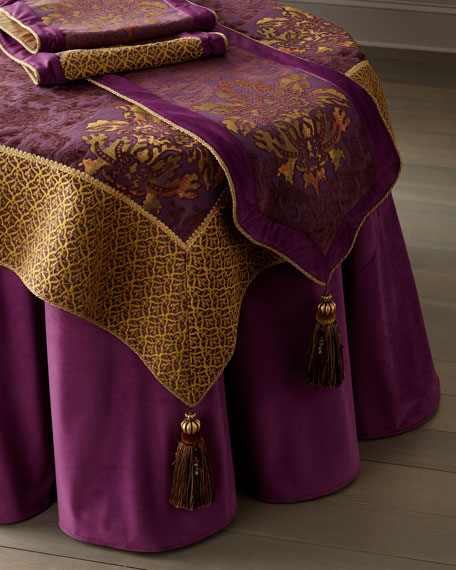 Royal Court Table Runner w/ Tassel Ends