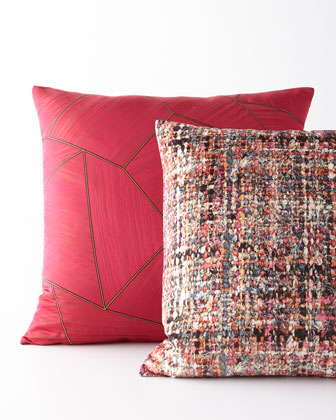 Boucle Garden Pillow and Matching Items