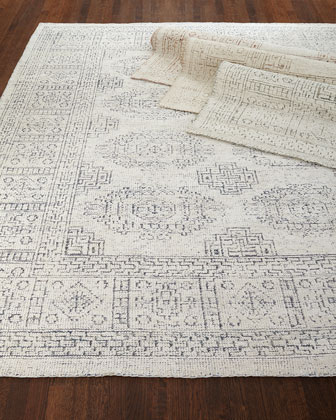 Luna Hand-Knotted Rug, 4' x 6'  and Matching Items
