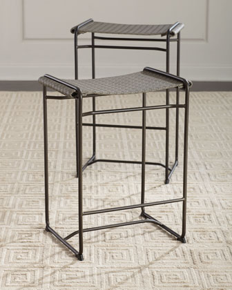 Sahara Faux-Leather Bar Stool  and Matching Items