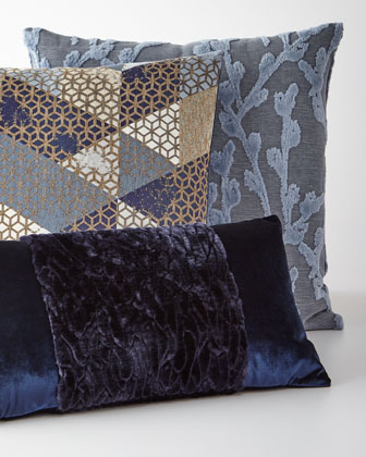 Callard Band Velvet Pillow