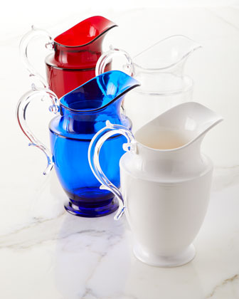 Federica Acrylic Pitcher and Matching Items