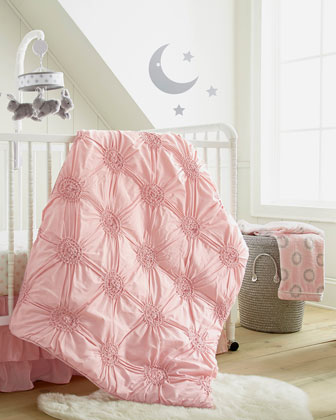 Willow Medallion Blanket, Pink  and Matching Items