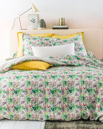 Champetre Stone-Washed Linen King Duvet Cover and Matching Items