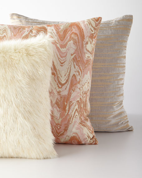 Glamour Faux-Fur Pillow