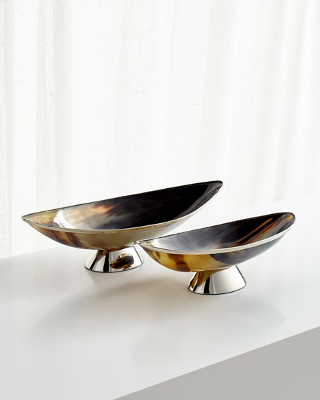 Cerith Decorative Horn Tray - Large
