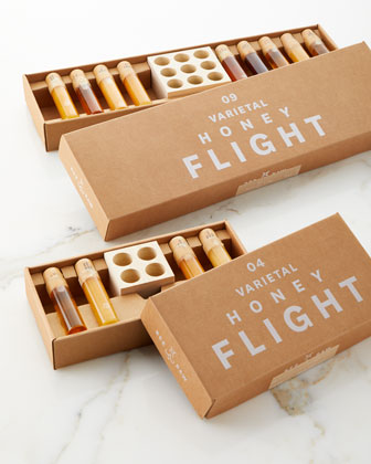 9-Piece Varietal Honey Flight and Matching Items