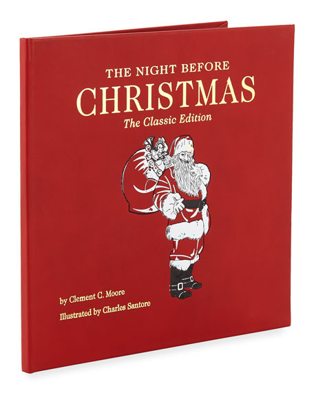 the night before christmas the classic edition book by clement c