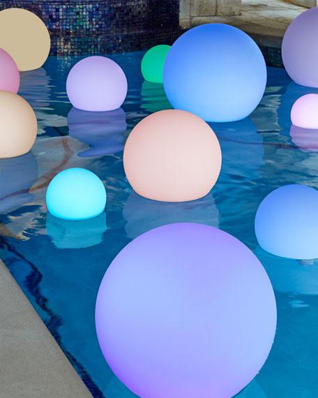 "LED Glowball, 8"""