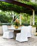 Single Pedestal Vine Indoor/Outdoor Dining Table