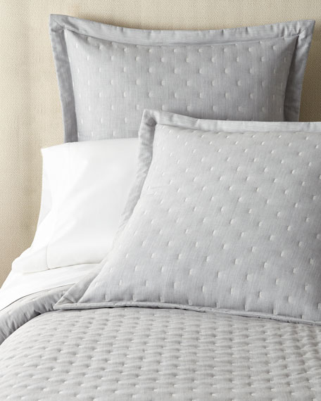 Zermatt Fil Coupe Quilted King Coverlet