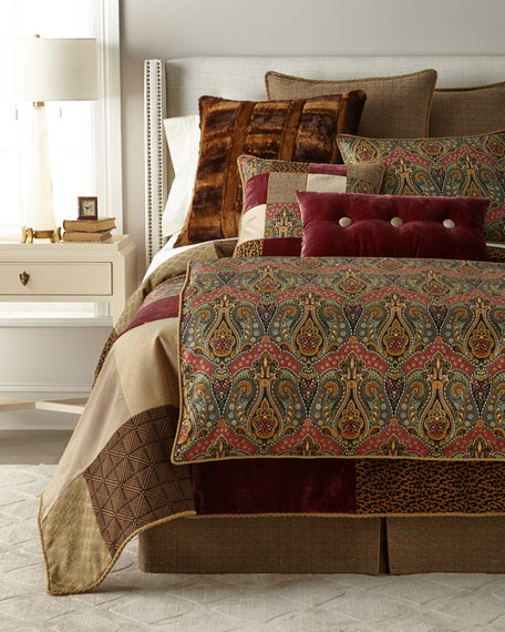 Spencer Patchwork King Duvet