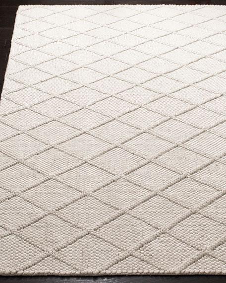 Wren Hand-Woven Rug, 6' x 9'