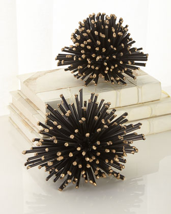 Sea Urchin Sculpture  Small  and Matching Items