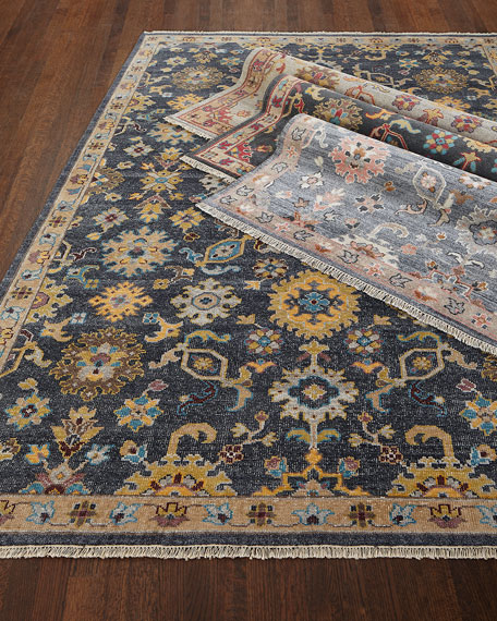 Chauvin Hand-Knotted Rug, 9' x 13'