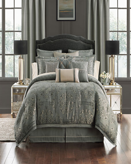 Dimitrios Reversible 4-Piece California King Comforter Set