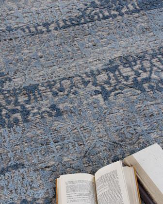 Baker Hand-Knotted Wool Area Rug