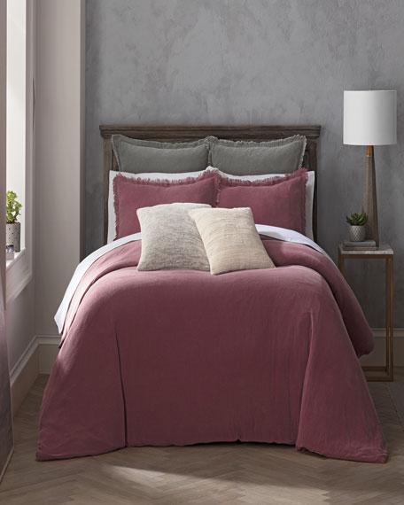 Reese Full/Queen Duvet Set, Pink