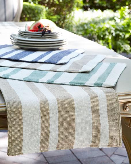 Sol Stripe Placemats, Set of 4