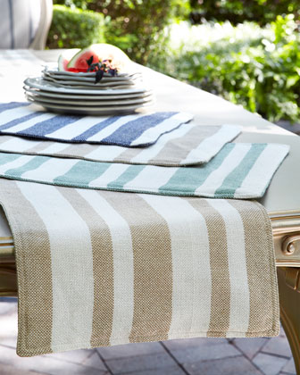 Sol Stripe Placemat S4 and Matching Items