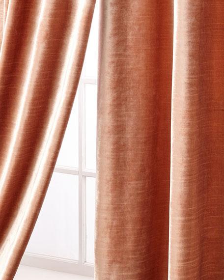 """Geode Velvet Curtain Panel, 108"""""""