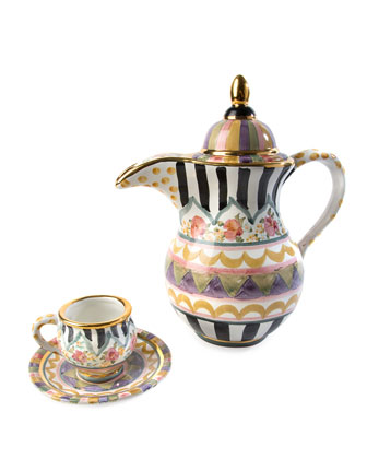 Bazaar Espresso Cup and Saucer Set  and Matching Items