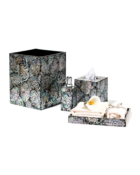 Ladorada Mother Of Pearl Bath Tray And