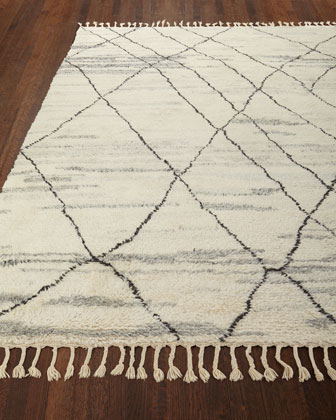 Kirsten Hand-Knotted Shag Rug