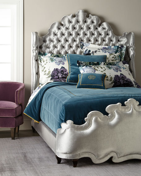Isabella Tufted Queen Bed