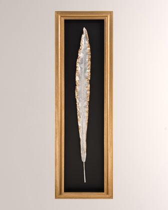 Gilded Bird of Paradise II Alternative Art Botanical  and Matching Items